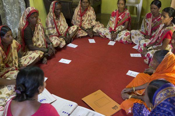 Self Help Group meeting in progress