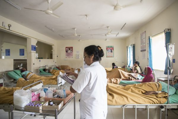 The Female Ward at SPARSH hospital